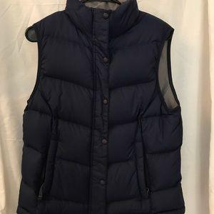 LL Bean Navy Blue Vest